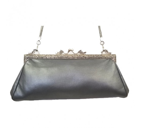 FRENCH 1918 VINTAGE LEATHER CLUTCH