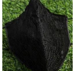 Face Mask Black Lace