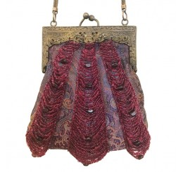 20 ALL BEADED DRAPE VINTAGE BAG-contact for prices