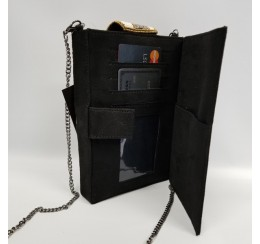 ROSE CELL PHONE WALLET