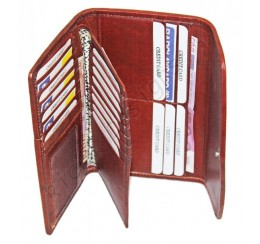 P284 GENUINE LEATHER WALLET MULTI COMPARTMENT